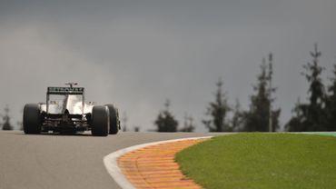 Le GP de F1 de Francorchamps en 2011
