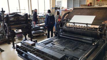 La Maison de l'imprimerie reste accessible aux visiteurs mais uniquement sur rendez-vous et par petit groupe.