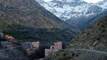 Le village marocain d'Imlil près duquel deux touristes scandinaves ont été tuées, le 18 décembre 2018