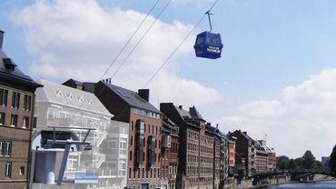 """La société française """"La Belle Montagne"""" a un accord avec la ville de Namur pour gérer l'exploitation du futur téléphérique."""