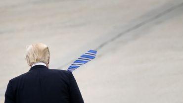 La popularité de Donald Trump en baisse sensible