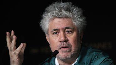 "Pedro Almodovar à la conférence de presse de ""La piel que habito"""