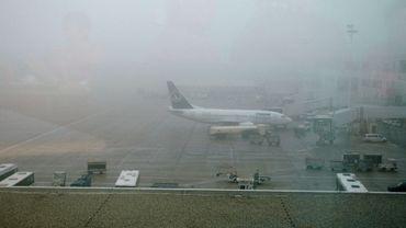 Illustration: brouillard sur Zaventem