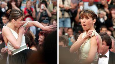 Sophie Marceau à Cannes en 2005