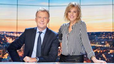 """François de Brigode et Nathalie Maleux, le nouveau duo de """"Jeudi en Prime"""""""