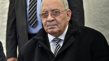 Le général Ahmed Gaïd Salah, chef d'état major de l'armée algérienne et actuel homme fort du pays, le 6 février 2019 à Alger