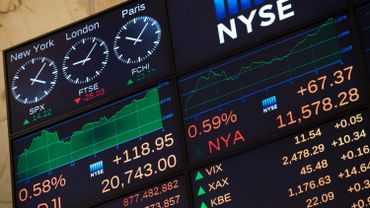 Dow Jones, l'indice vedette de la bourse de New York