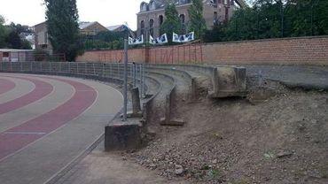 Les gradins du stade ADEPS seront rénovés