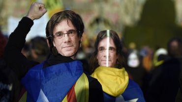 Plusieurs manifestations ont eu lieu en Espagne pour défendre l'ancien président de la Catalogne.