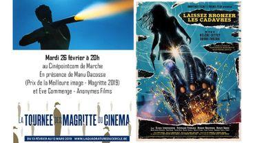 """Les """"Magritte"""" s'invitent ce soir au CinéPointCom à Marche !"""