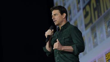 """Tom Cruise s'est rendu jeudi au Comic-Con de San Diego afin de présenter pour la première fois la bande-annonce de """"Top Gun: Maverick""""."""
