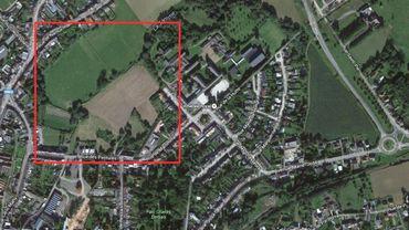 Le nouveau quartier sera construit dans la zone cerclée de rouge