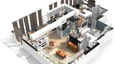 L'appartement de Dexter en version 3D