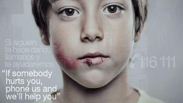 Campagne publicitaire contre la maltraitance