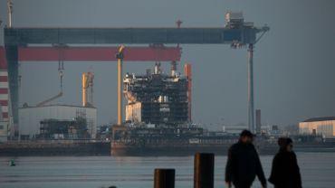La France et l'Italie abandonnent le rachat commun des Chantiers de l'Atlantique