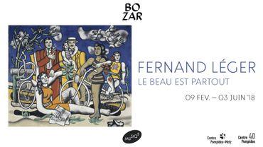 """Musiq'3 soutient l'exposition """"Fernand Léger"""" de BOZAR"""