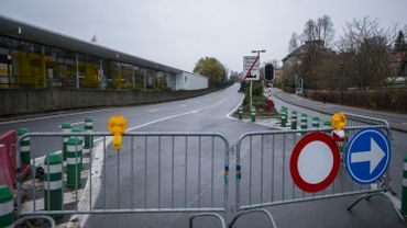 On ne passe plus sur le viaduc Herrmann-Debroux.