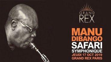 Concert | Manu Dibango au Grand Rex, Paris