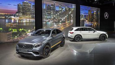 Salon de New York : les SUV de taille moyenne de Mercedes reçoivent le traitement de choc AMG