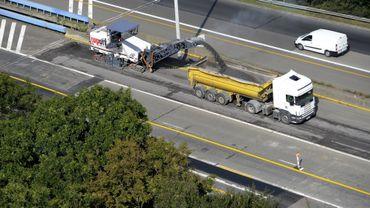 L'autoroute E42 sera fermée pour travaux durant 4 week-ends à hauteur de Verlaine