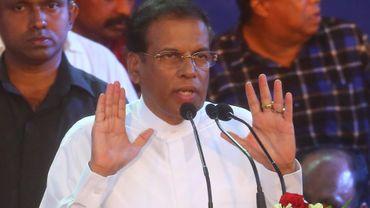 Maithripala Sirisena, l'actuel président Sri-lankais