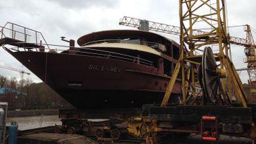 Le nouveau bateau du chantier naval de Beez voguera sur les eaux du Douro au Portugal.