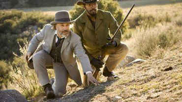 """Christoph Waltz et Jamie Foxx dans """"Django unchained"""""""