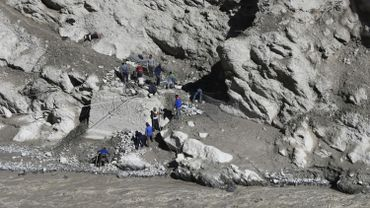 Inde : craintes qu'un lac himalayen récent provoque une autre crue subite