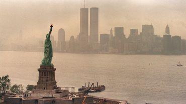 Le World Trade Center de New York avant sa destruction.