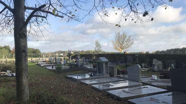 """Le """"nouveau"""" cimetière de Nodebais date des années 80, il est presque saturé et sera donc agrandi."""