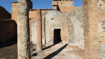 Des ruines de Pompei, près de Naples, le 16 novembre 2016