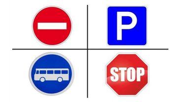 Si vous étiez un panneau de signalisation...