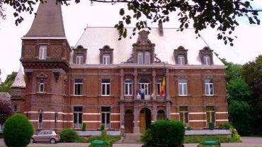 Le château Mondron à Jumet