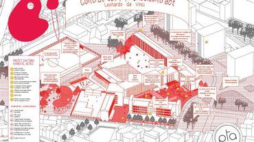 Affiche du Contrat école - Léonardo Da Vinci à Cureghem (Contrats Ecoles en cours)