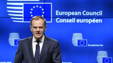 Le polonais Donald Tusk est réélu à la présidence du Conseil Européen.