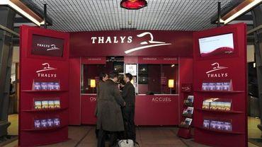 """Centre d'information """"thalys"""" à la gare du Midi"""