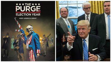 Donald Trump dépose son slogan pour 2020 et c'est celui d'un film d'horreur