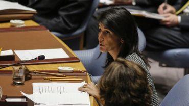 """L'ambassadrice américaine auprès des Nations unies Nikki Haley a jugé """"important que la Corée du Nord sache que nous ne cherchons pas un affrontement"""""""