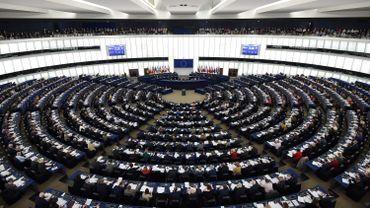 Une session du parlement européen