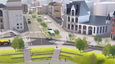 Liège: la place Cockerill sera bientôt réaménagée