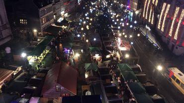 Marché de Noël à Liège: la sécurité reste la priorité des autorités