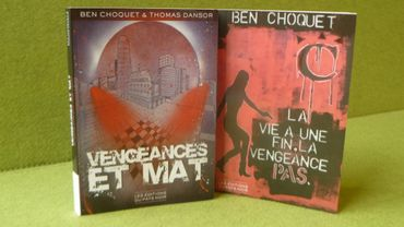 Les deux livres écrits par le Carolo Ben Choquet