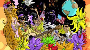 Le centre culturel de Seraing rend hommage au festival de Woodstock