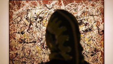"""Le musée carioca espère obtenir 25 millions de dollars en cédant """"No.16"""", une toile de Pollock qui lui avait été donnée en 1954 par Nelson Rockfeller"""