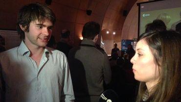 Bart Van Hove et Elodie Gloesener, les benjamins de l'équipe ExoMars