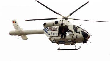L'hélicoptère de la police fédérale appelé en renfort à Thuin
