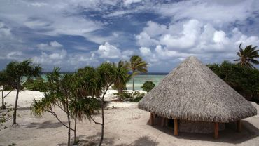 """Marlon Brando était tombé amoureux de cet île pendant le tournage en 1961 des """"Révoltés du Bounty"""" et l'avait achetée."""