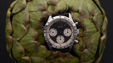 """Rolex, Daytona """"Paul Newman"""", vers 1967. Chronographe bracelet en acier. Estimation : 100.000 - 150.000€. Artcurial."""