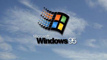 Windows 95, le retour en application