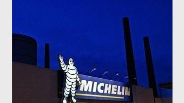 Entrée d'une usine Michelin